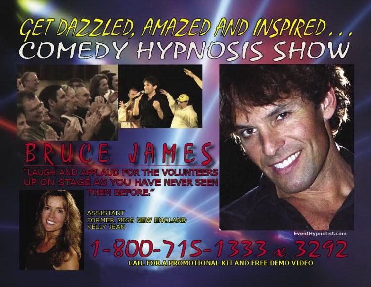 A Comedy Stage Hypnotist