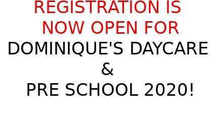 Dominiques Daycare & Preschool